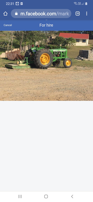 Radiator for a John  Deere  2130