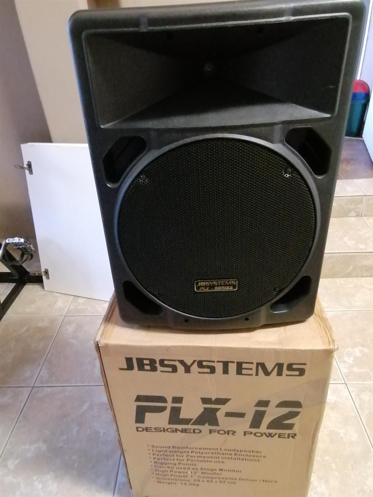 1 x Pair 12 Inch 200 watt Passive Speaker