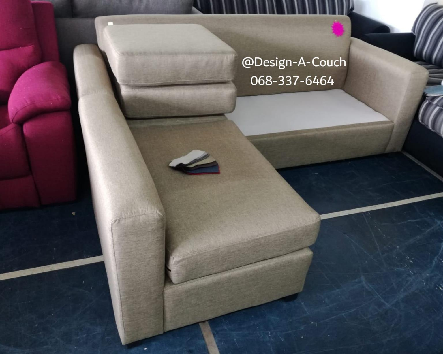 L-shaped interchangeable daybed couch