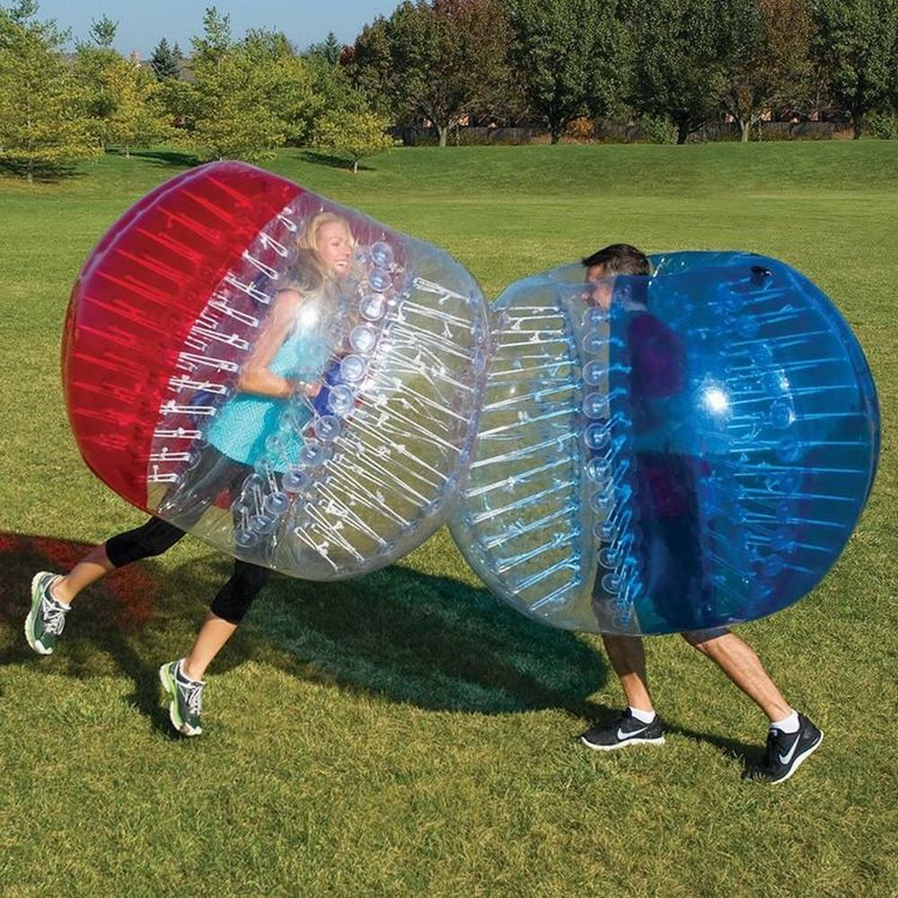 INFLATABLE BUBBLE SOCCER BALLS