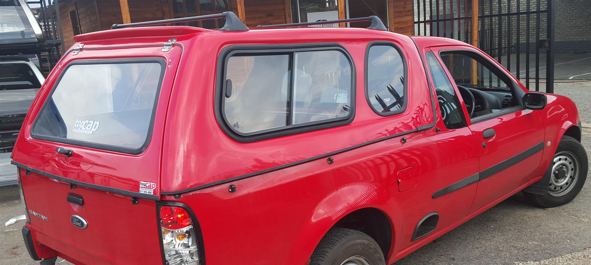 BRAND NEW FORD BANTAM BAKKIE CANOPY WITH R/RACKS & COLOR MATCHING