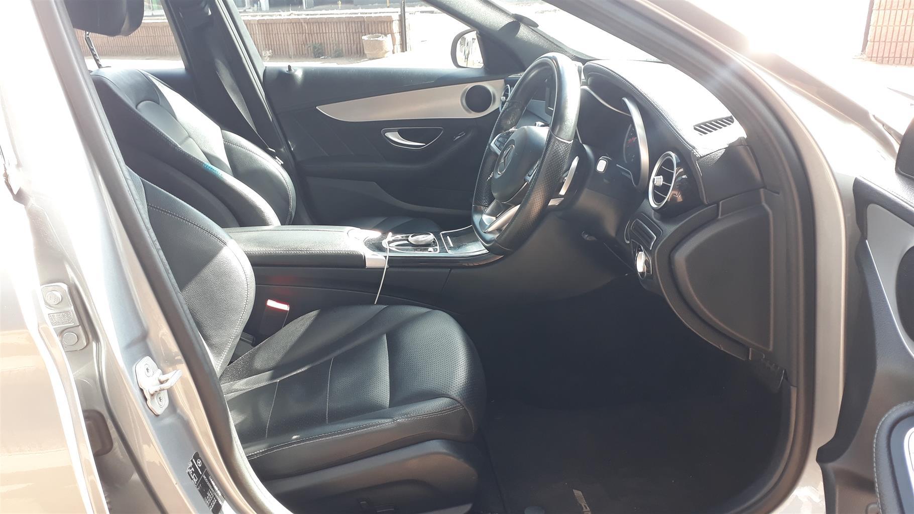 2015 Mercedes Benz C Class C200 AMG Line auto