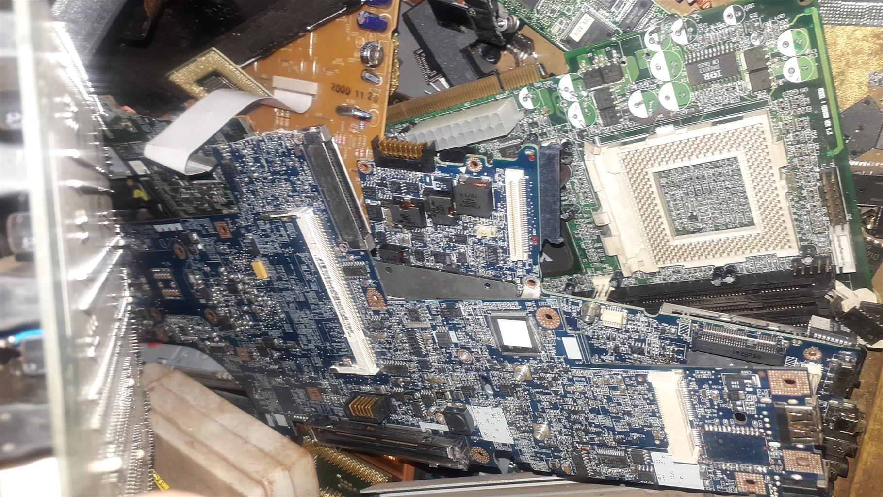 Looking for Old pc motherboards ..ram and Cpu's
