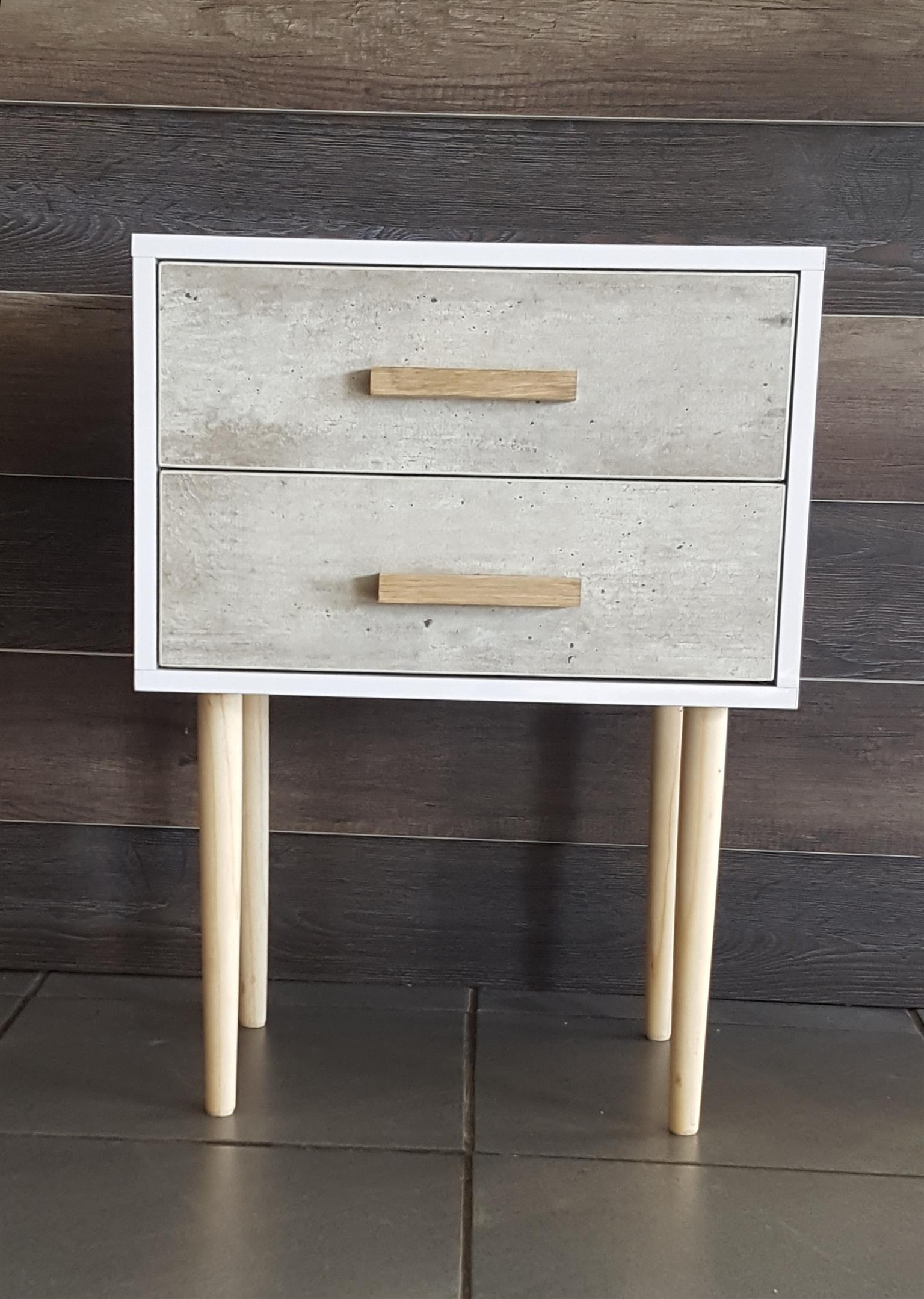 Mid Century Bed Side Table Junk Mail