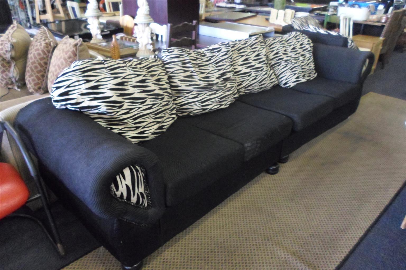 Material L-Shape Lounge Suite