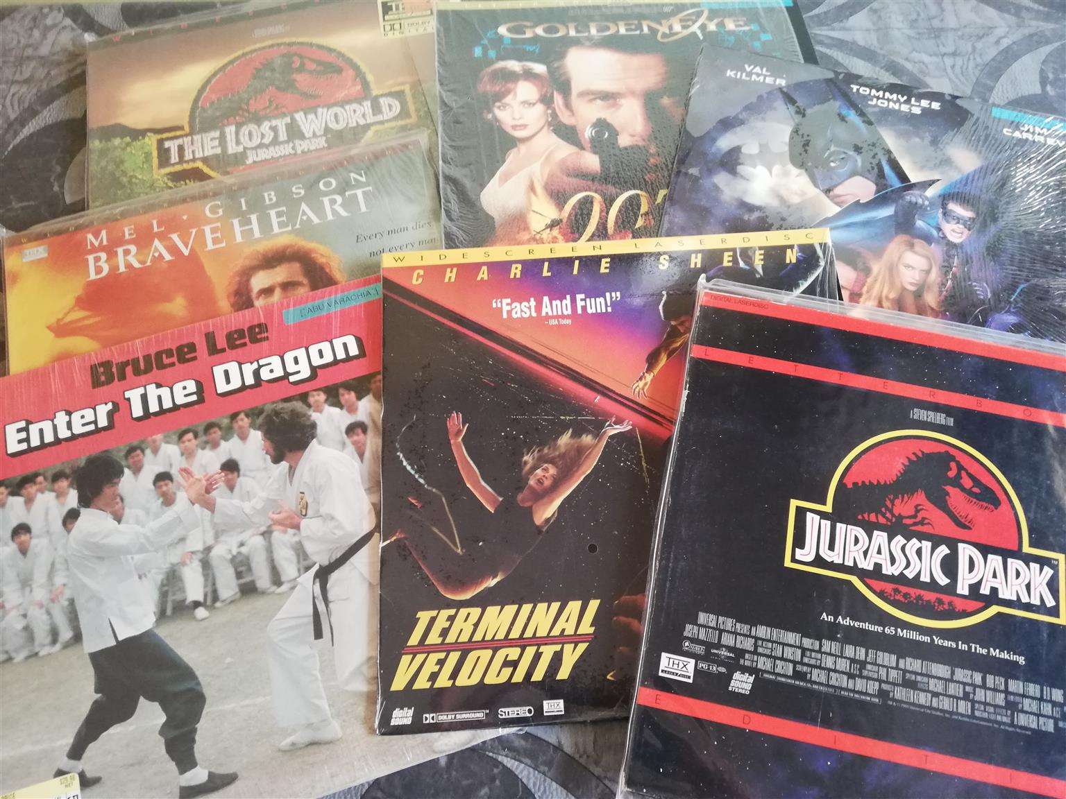 Laser Disc's - English movies