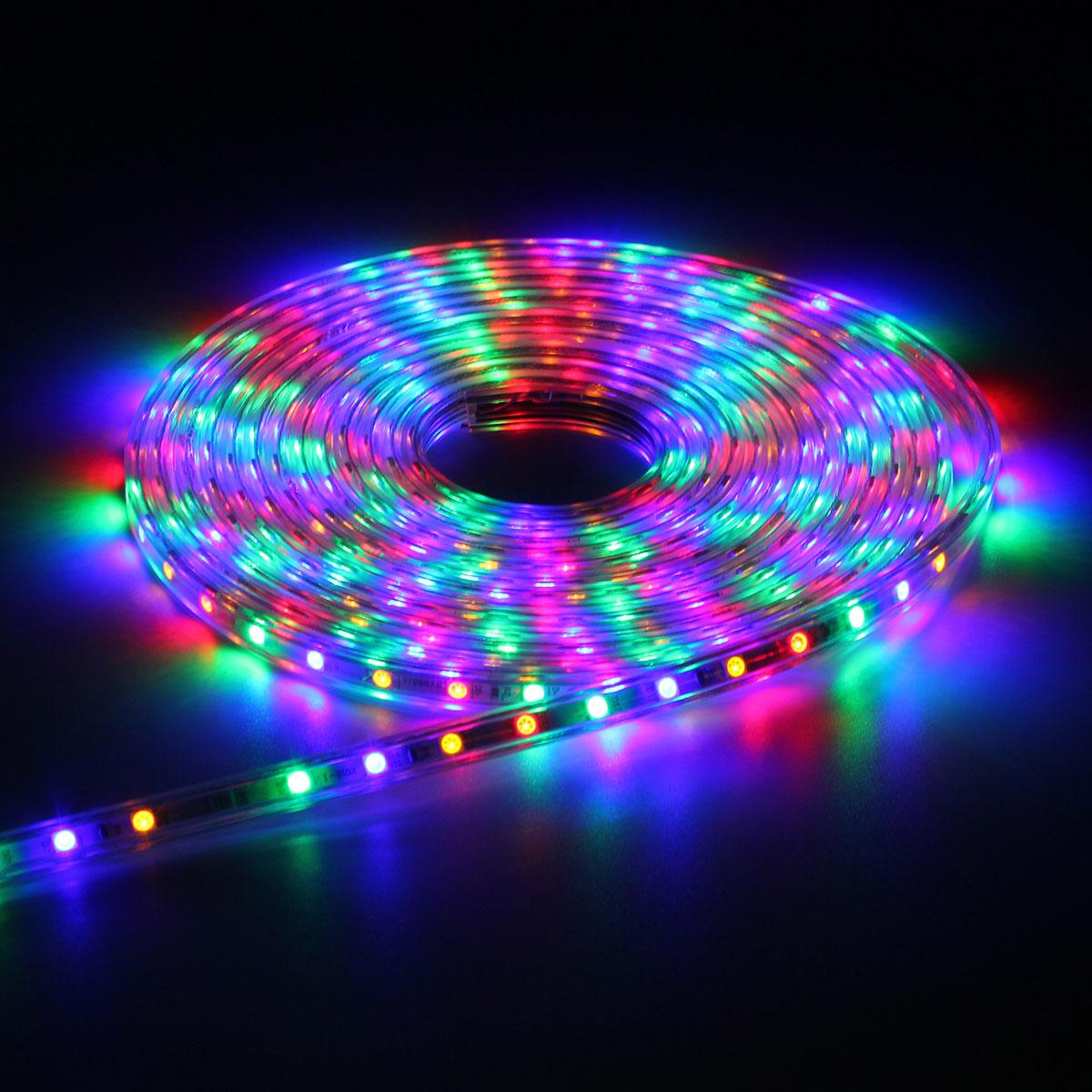 Multicolour Led Rgb Strip Light 220v Remote Control Kit Brand New Multi Colour Products