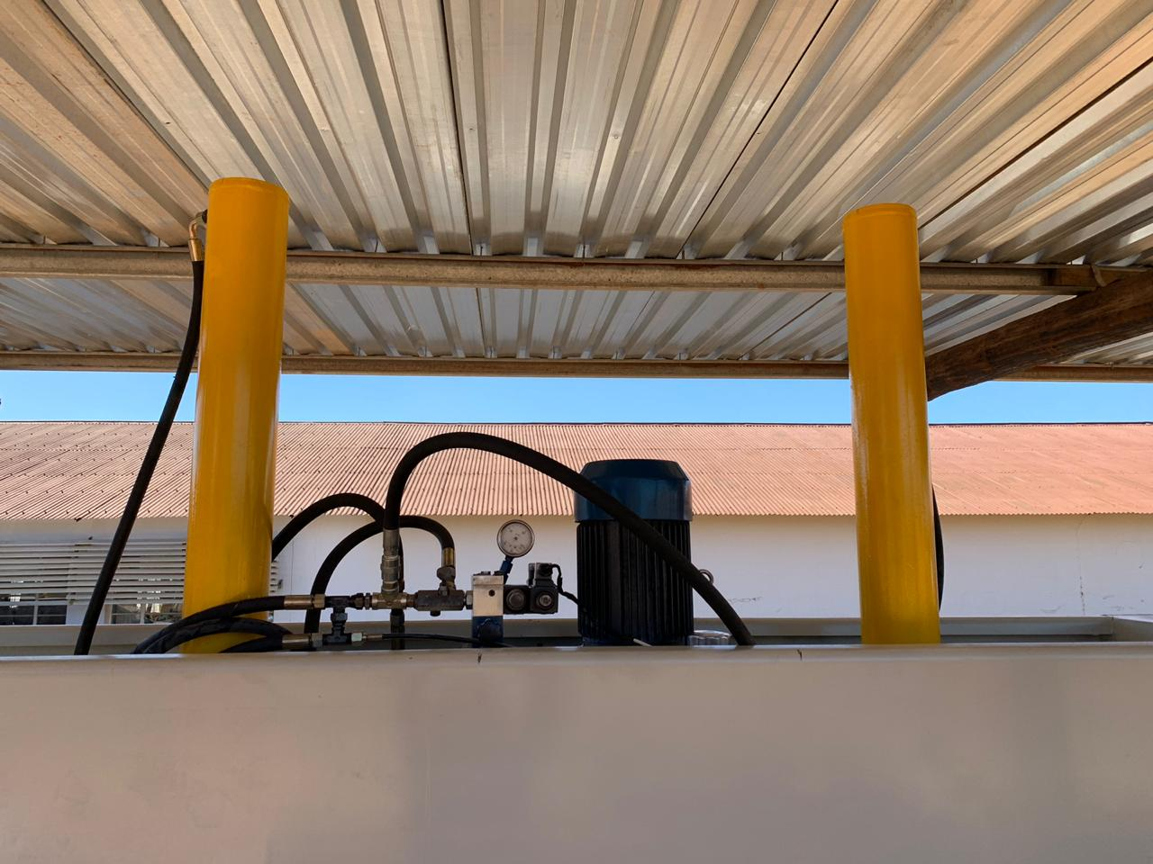 Cold Press, ROOSMAC, 3600x1300mm, Hydraulic, 75Ton, 4kW