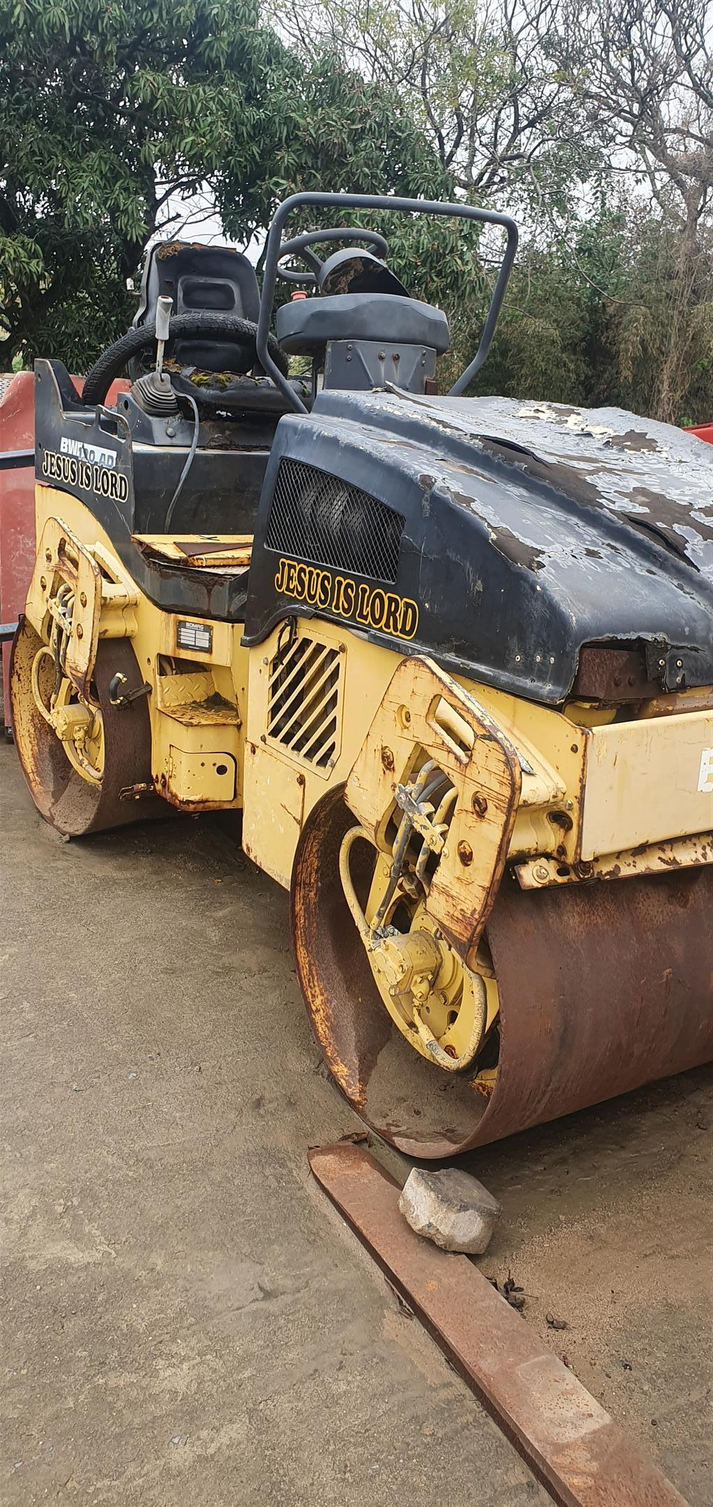 Bomag 2.5 ton ride on roller for sale