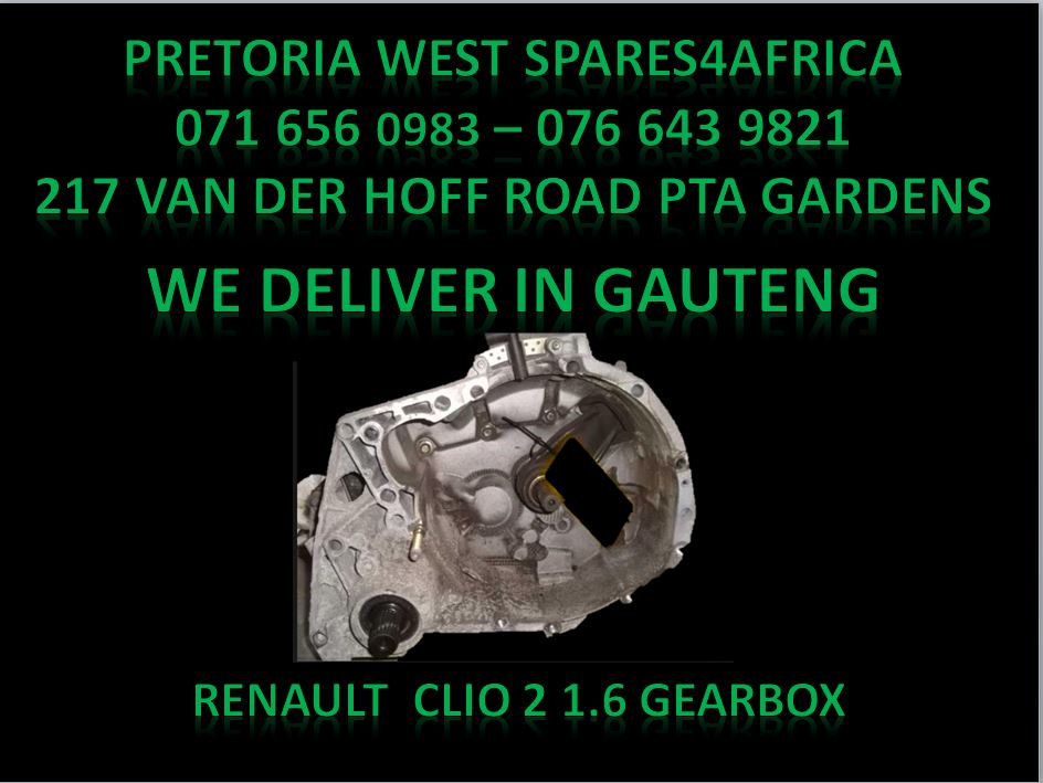 Renault clio gearbox for sale