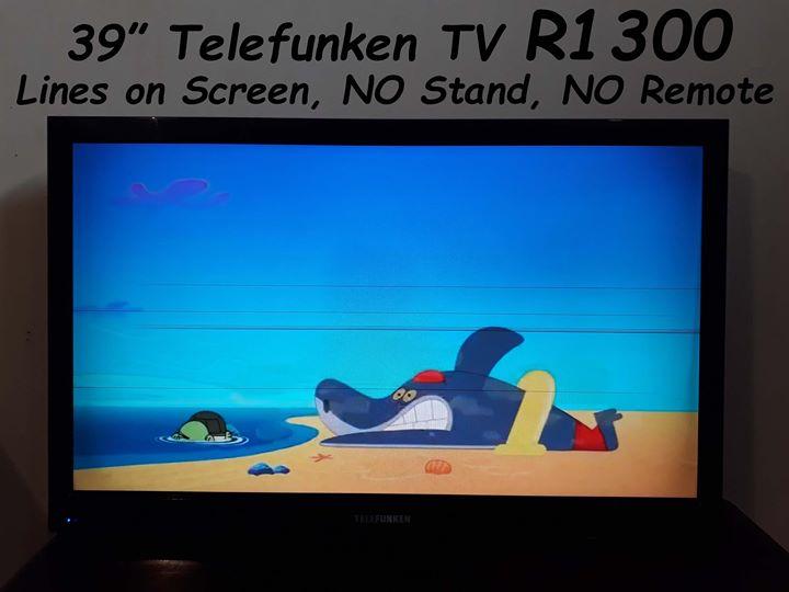 """39"""" Telefunken TV"""