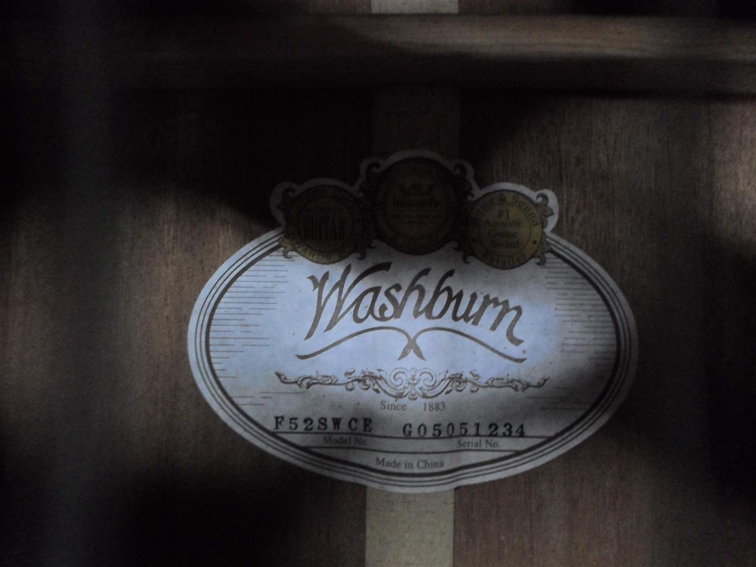 Washburn Electrical Acoustic Guitar