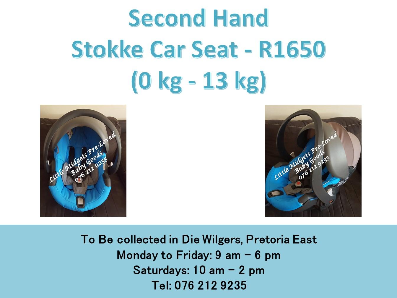 Second Hand Stokke Car Seat 0 Kg 13 Kg Junk Mail