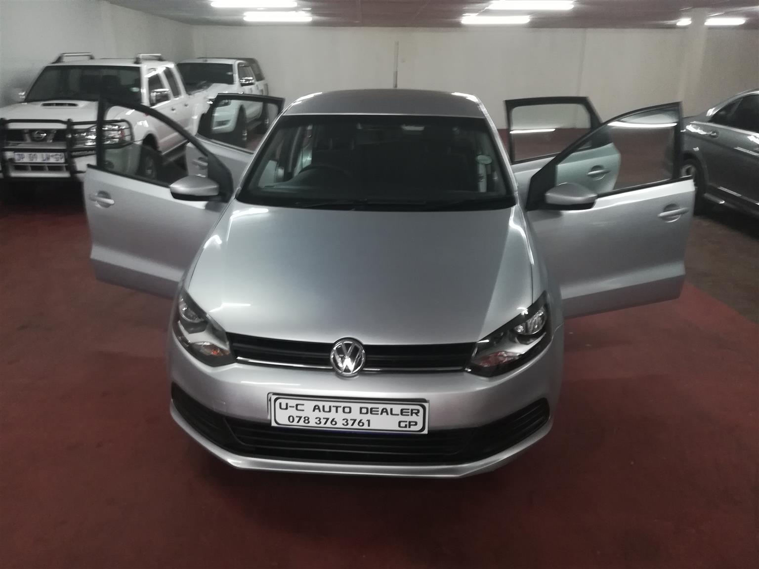 2018 VW Polo Vivo 5 door 1.4