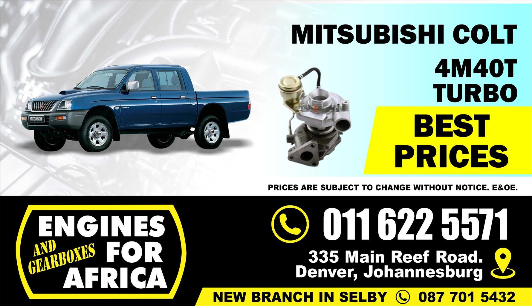 New Mitsubishi Colt 4M40 2 8Tdi Turbocharger FOR SALE