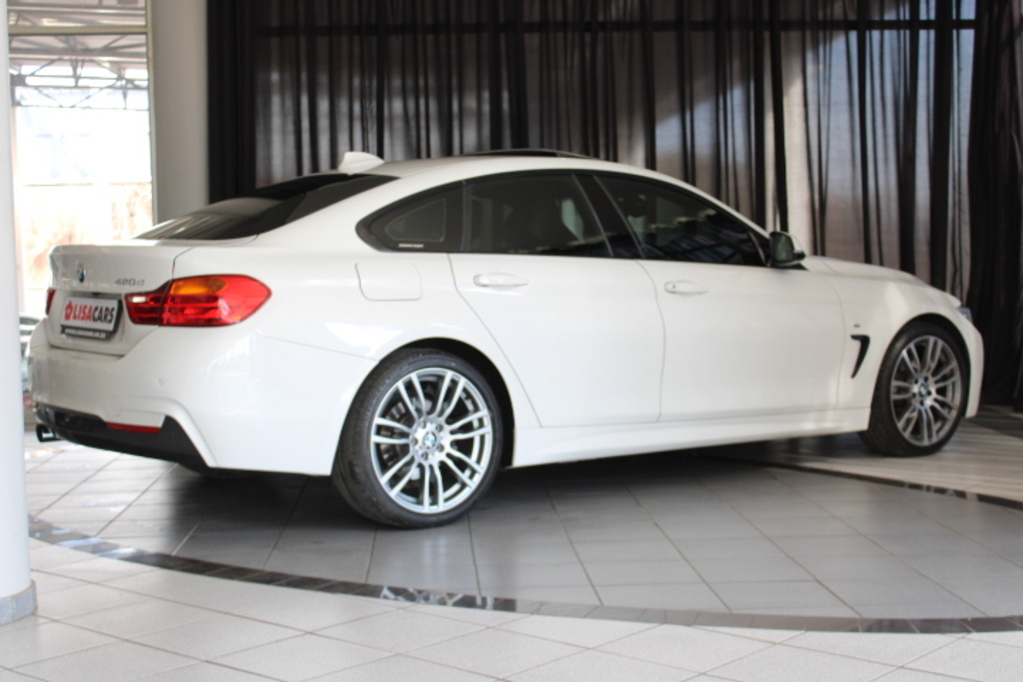 BMW 420D GRAND COUPE M SPORT A/T (F36) 2016