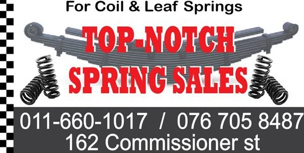 Krugersdorp Springs T/A Top Notch Spring Sales