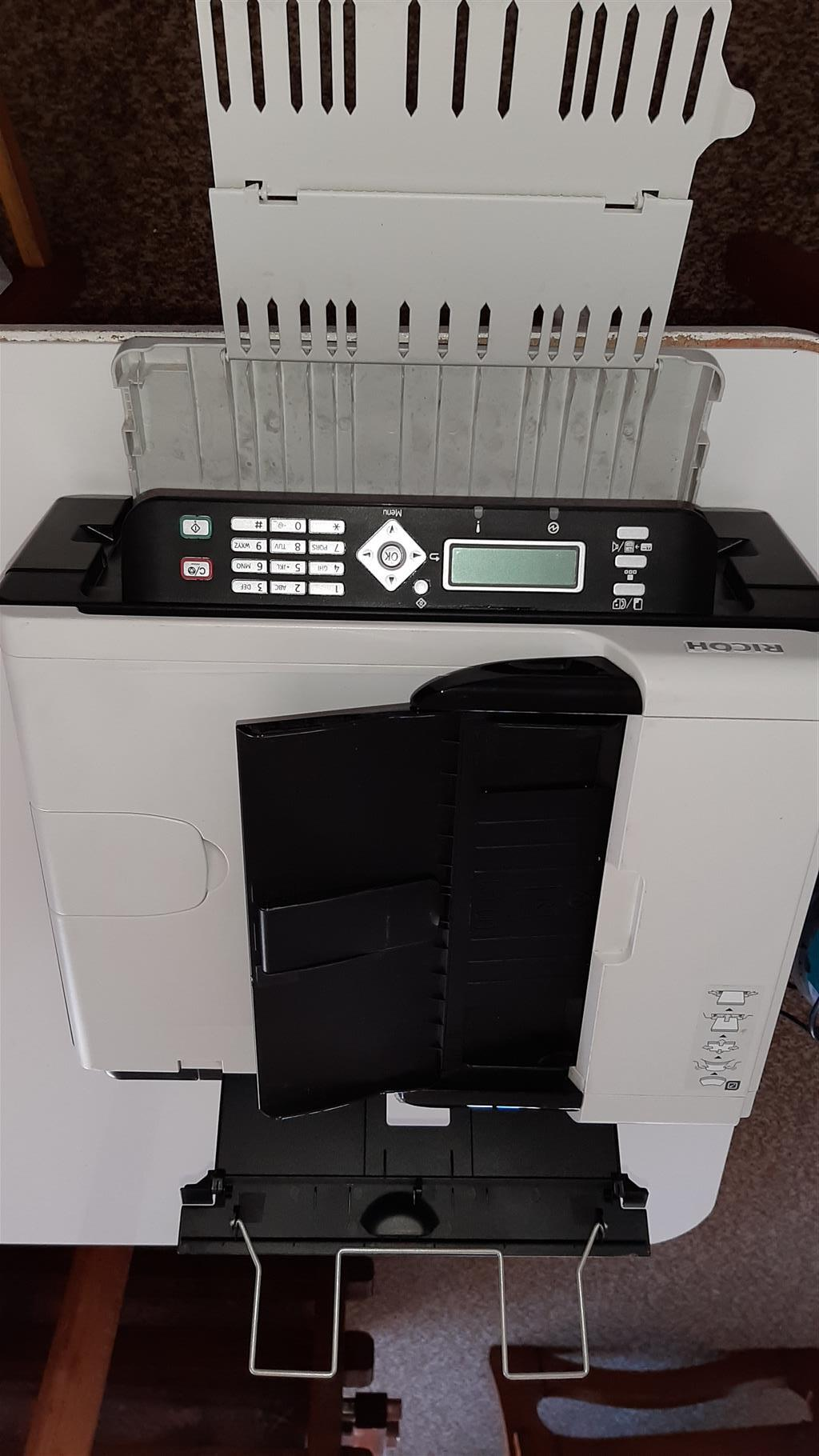 Ricoh laser print, copy, scan and fax