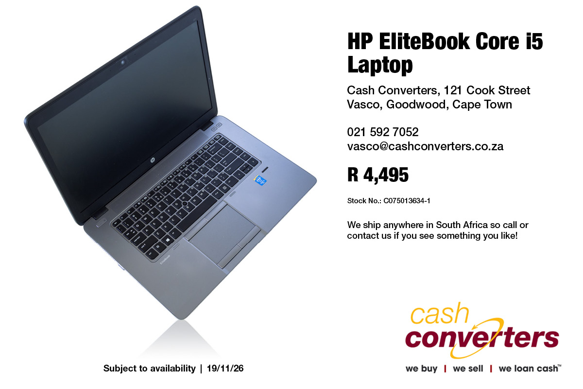 HP EliteBook Core i5 Laptop