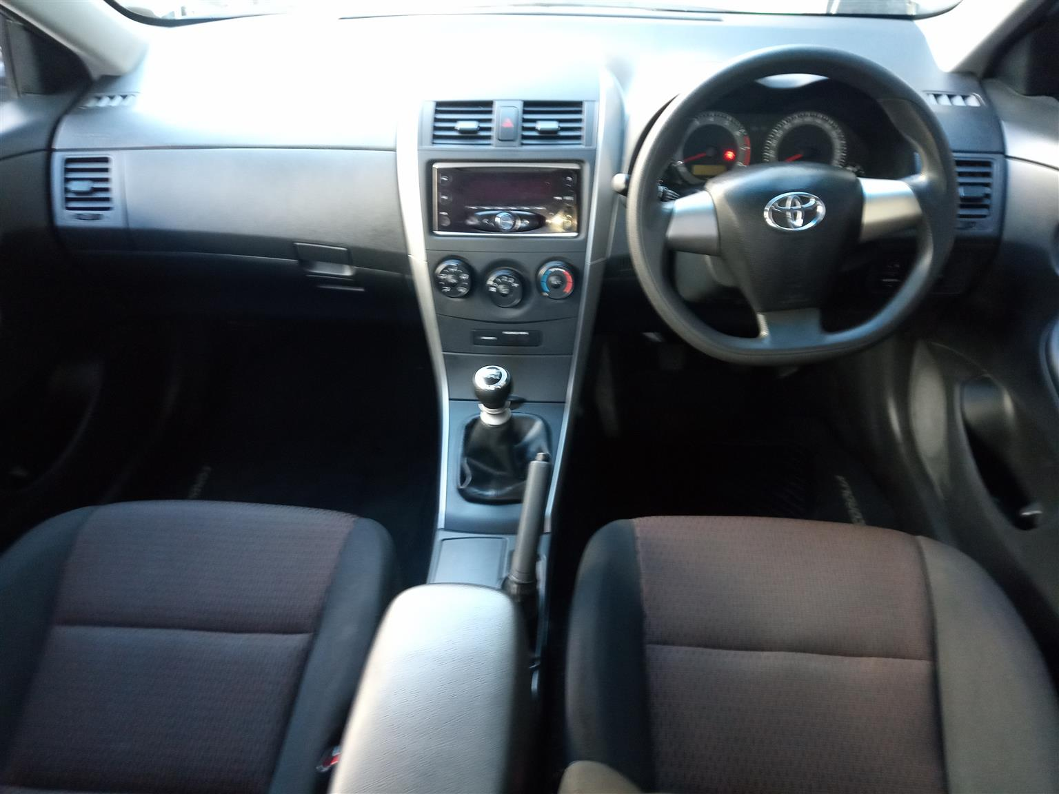 2017 Toyota Corolla 1.6 Professional