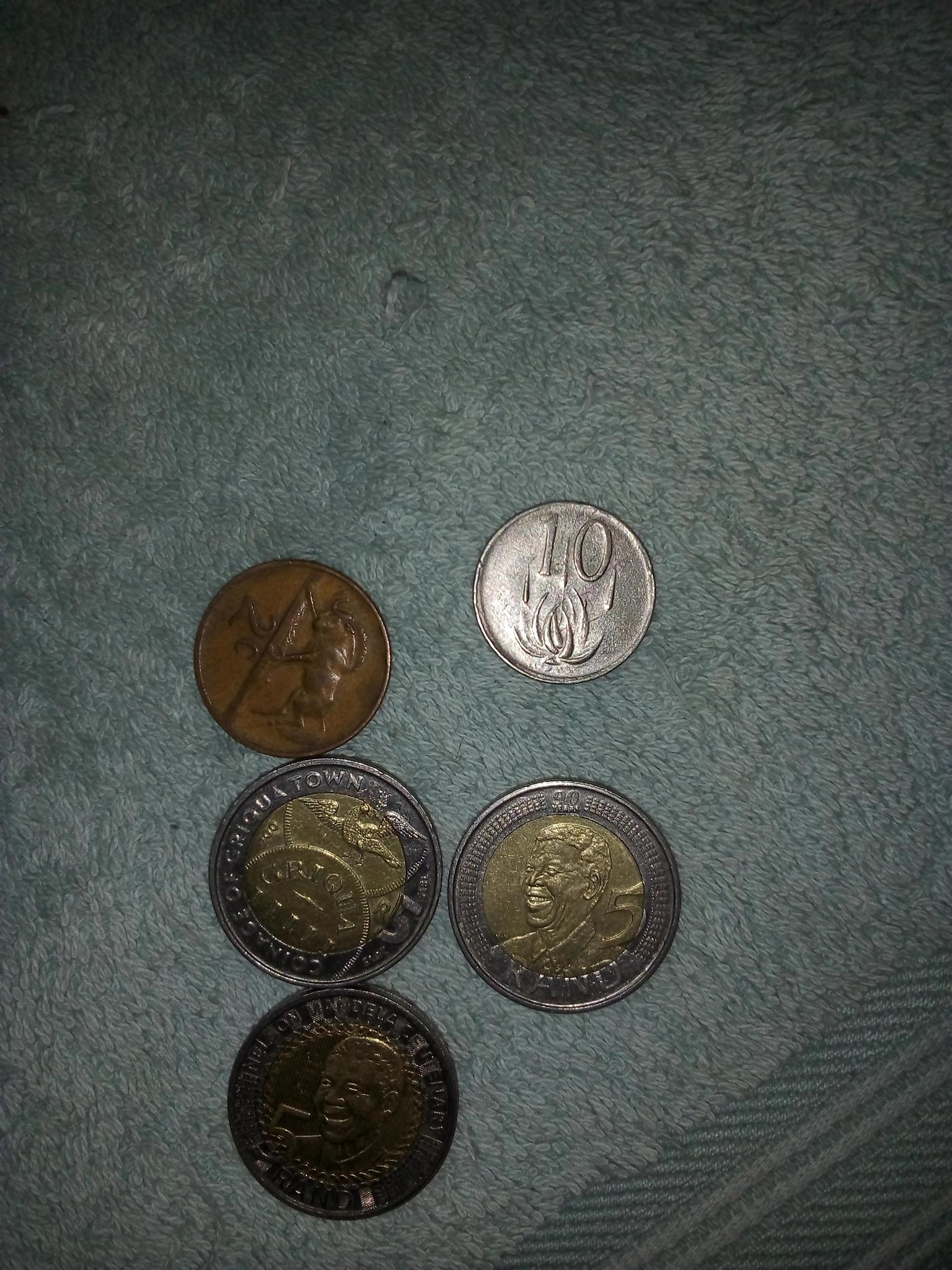R5 coins