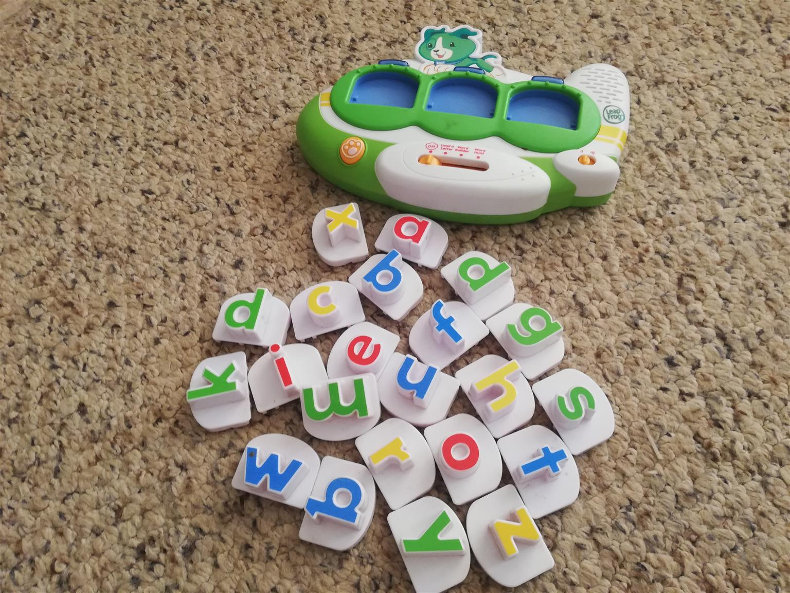 Leap frog kids ABC's educational toy