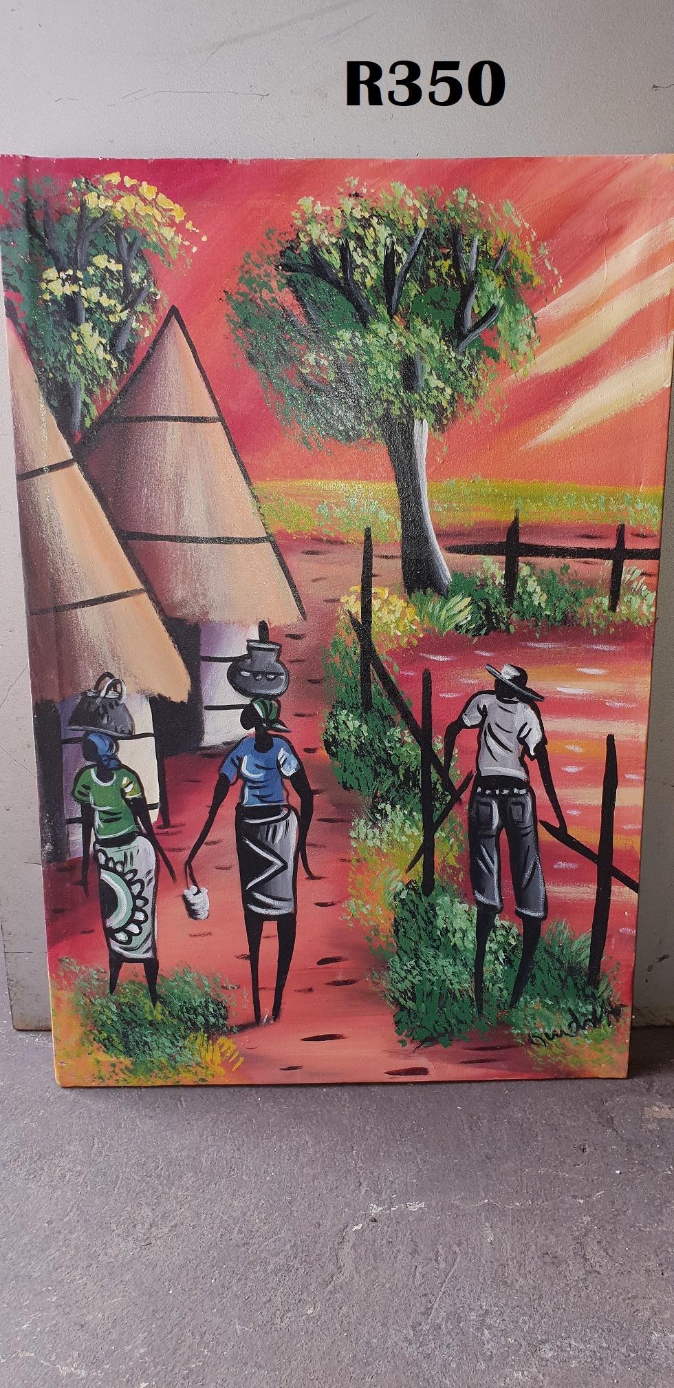 Vineyard Canvas  Painting (460x660)