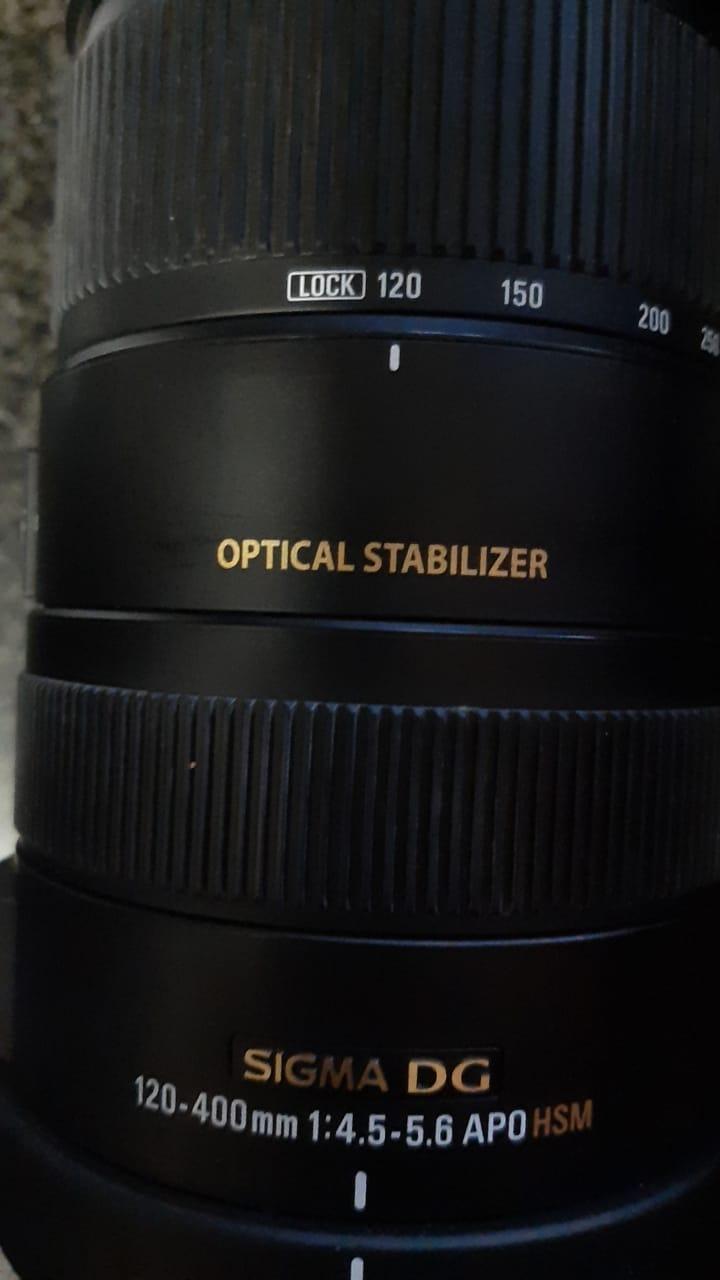 Lens Sigma for Nikon 120-400