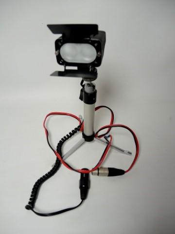 Bescor Twin on-camera Video light.