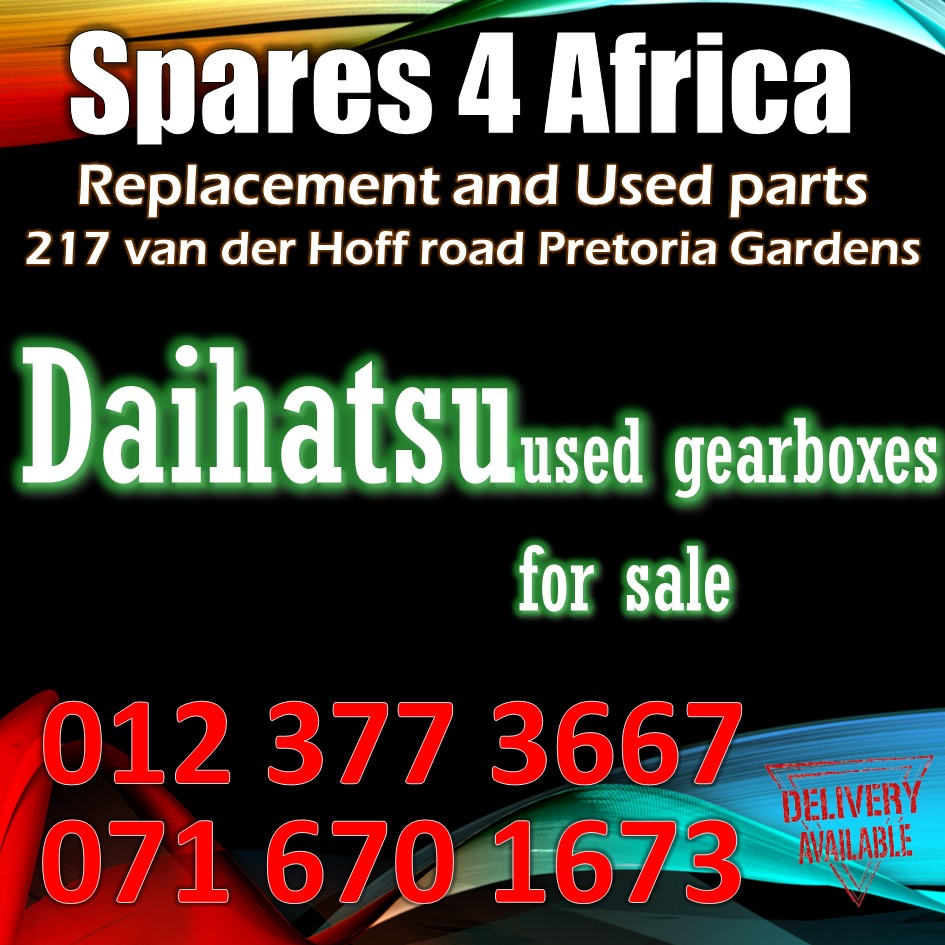 Daihatsu Sirion 1.3 manual gearboxes for sale