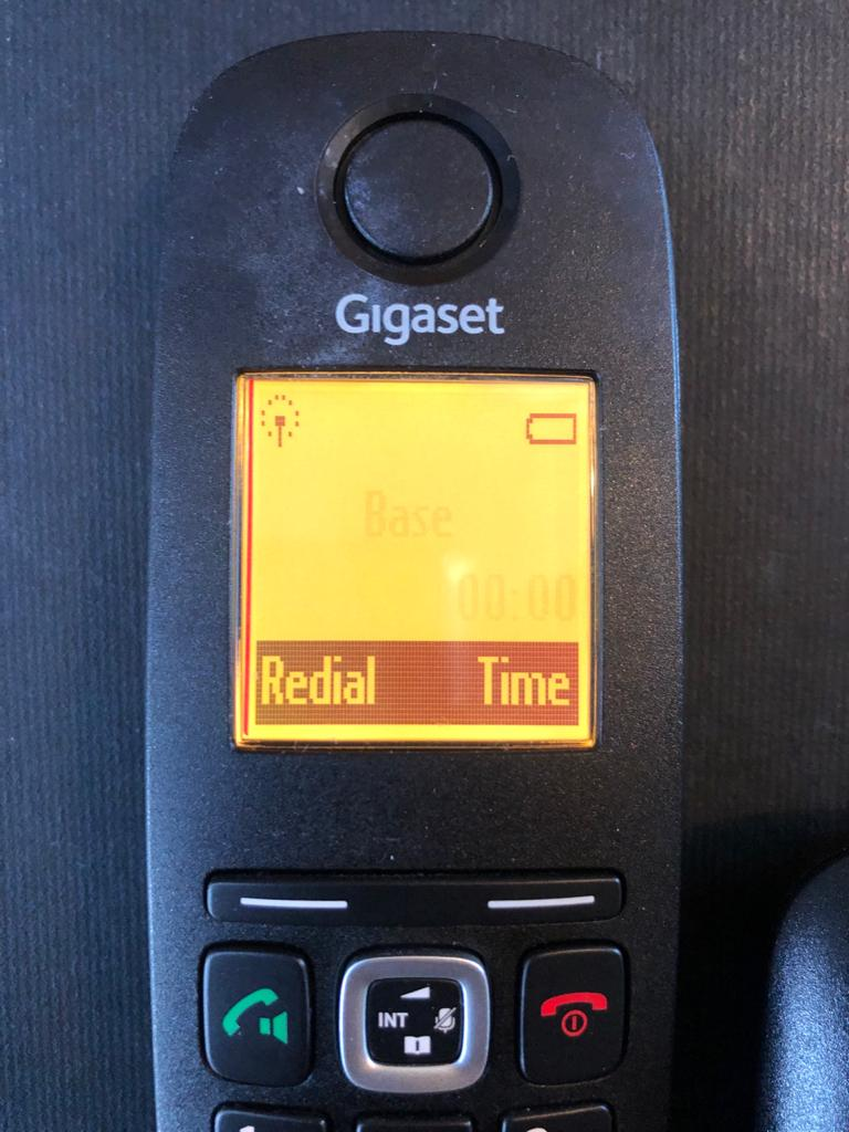 Siemens A590 Gigaset additional handset and cradle for an existing system