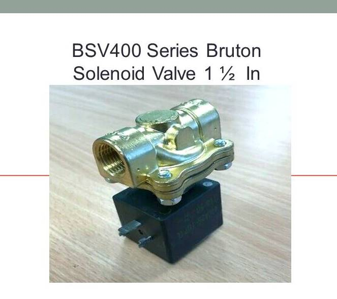 Bruton BSV432A-24V Solenoid Valve BSV400 Series