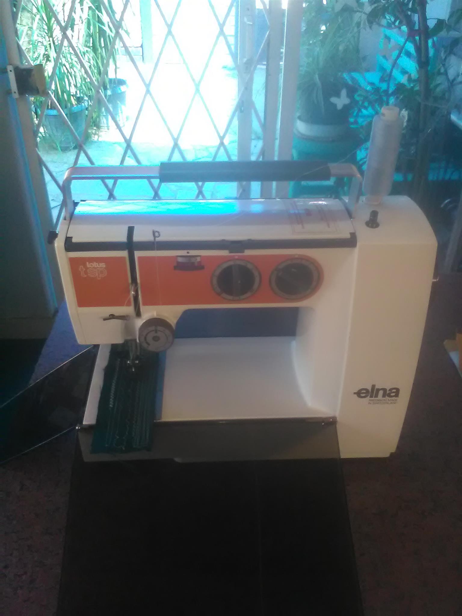 Elna Lotus tsp sewing machine.