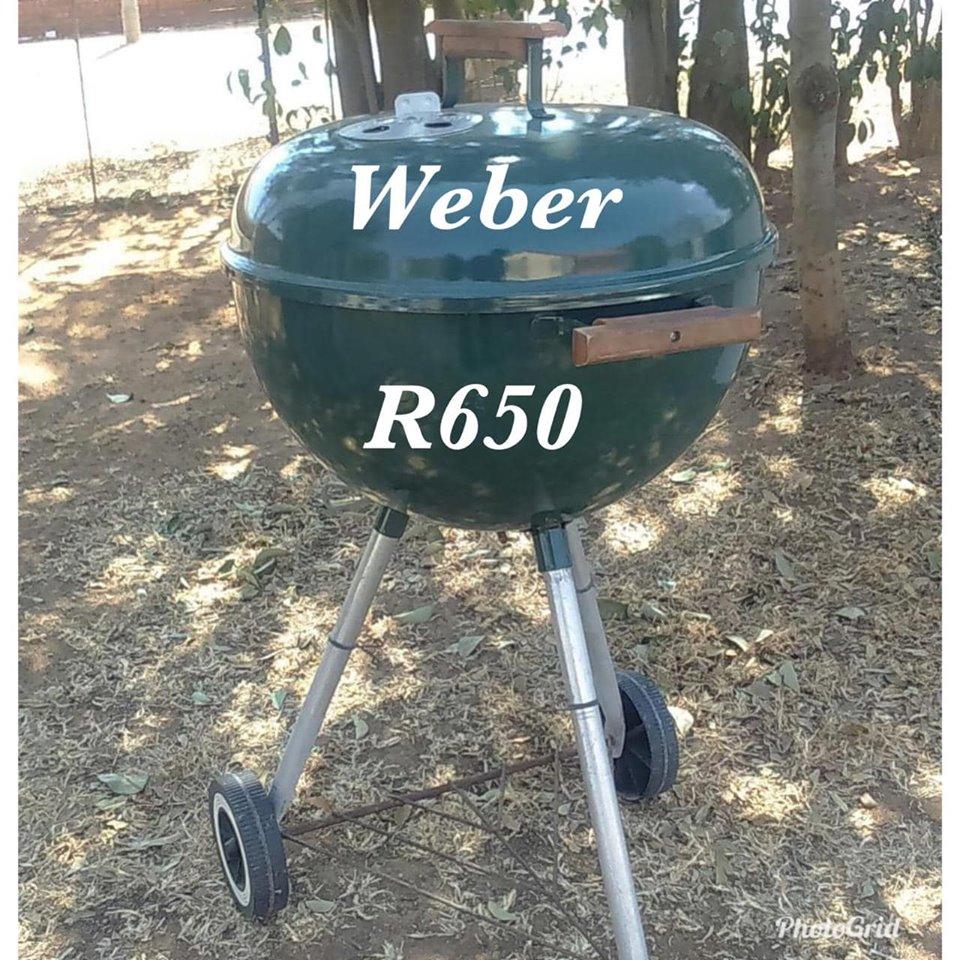 Weber braai (green)