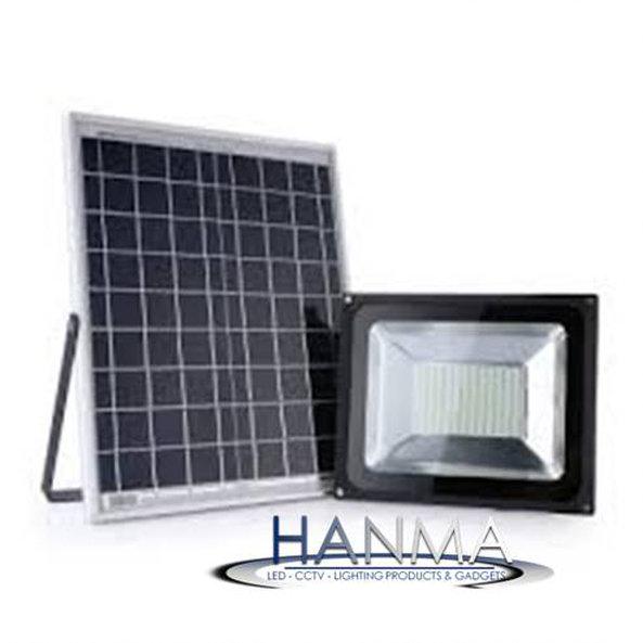 Solar led flood lights with remote  60 Watt