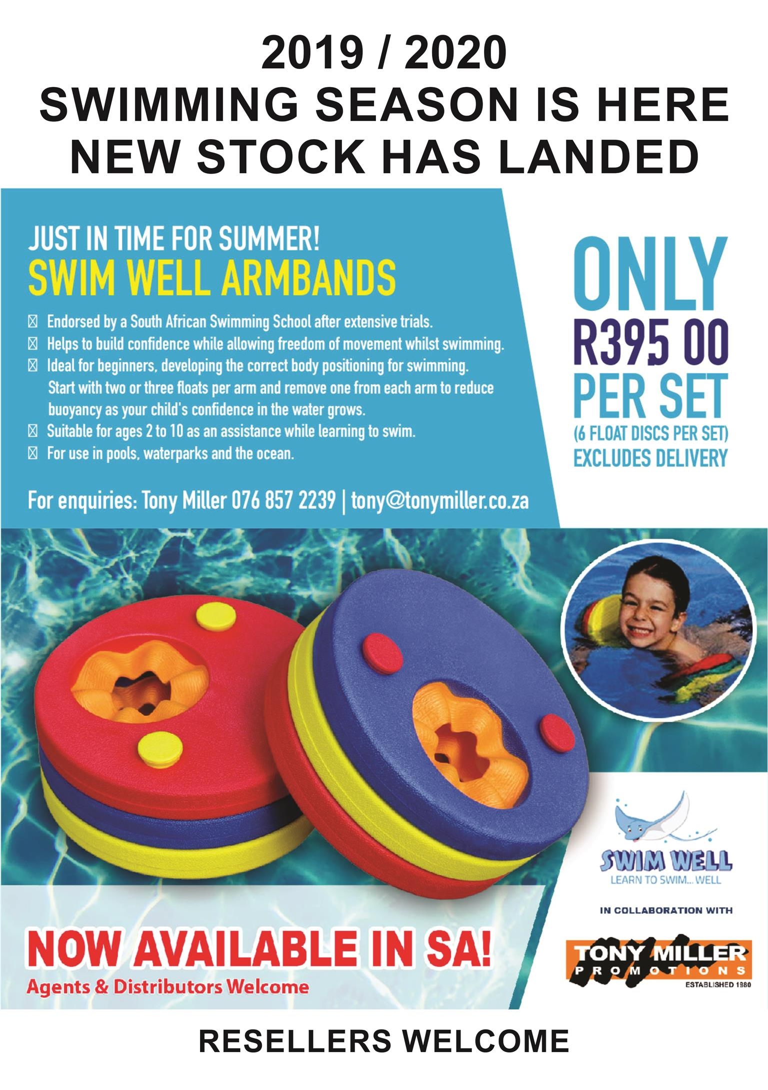 SWIMWELL EVA ARMBANDS