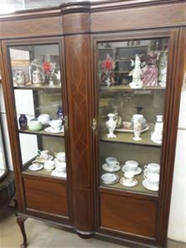 Victorian Display Cabinet.