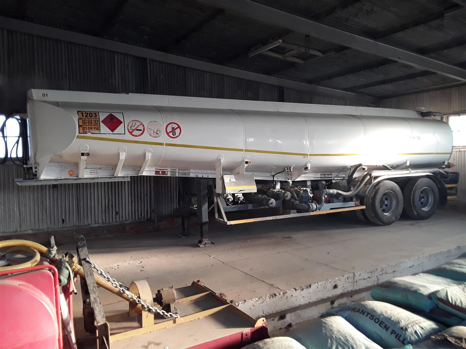 1983 Tank Clinic Fuel Tanker With Pumps Meters And Vapour Recovery System, Overfill Sensors And Fitted Scully Conections For Sale