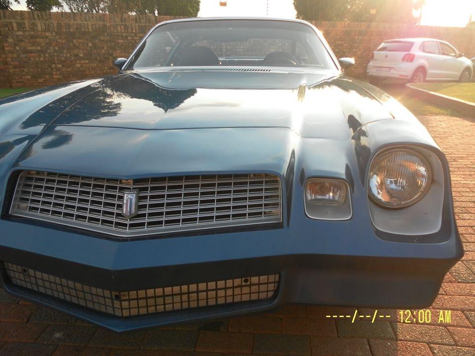 Chevrolet Camaro V8 350 with auto box