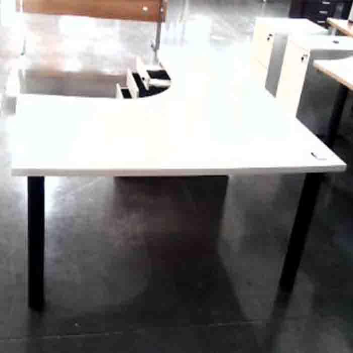 L shape desk plus d/h/p