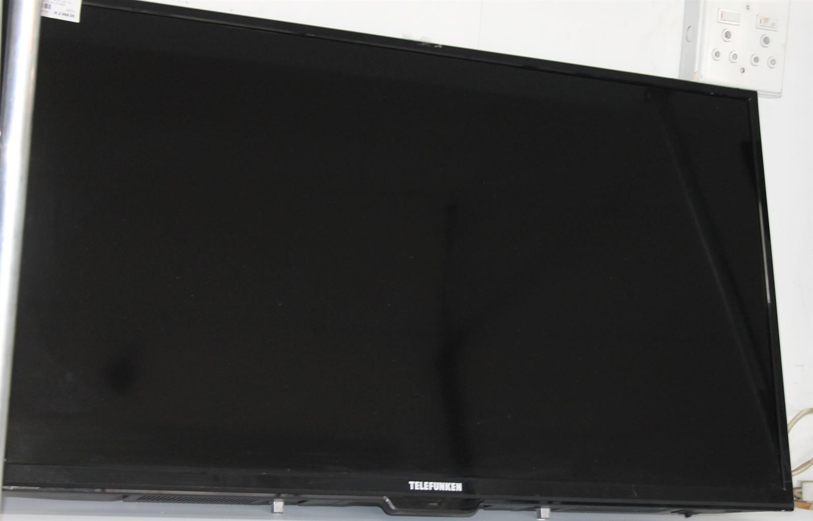 Telefunken 40 inch LED Tv with remote and no stand S033056A  #RosettenvillePawnShop   Junk Mail