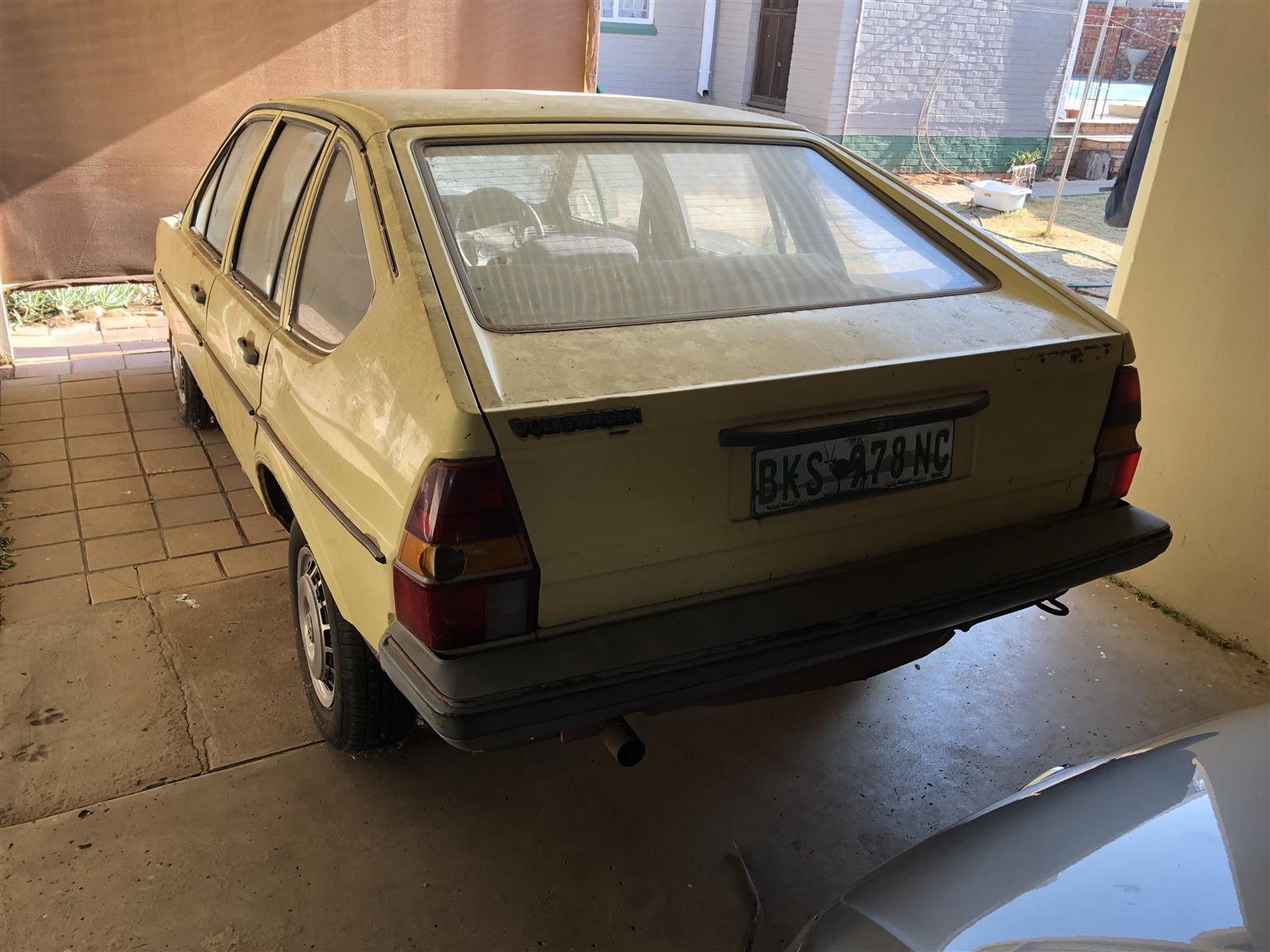 1982 VW Passat 1.6 Hatchback