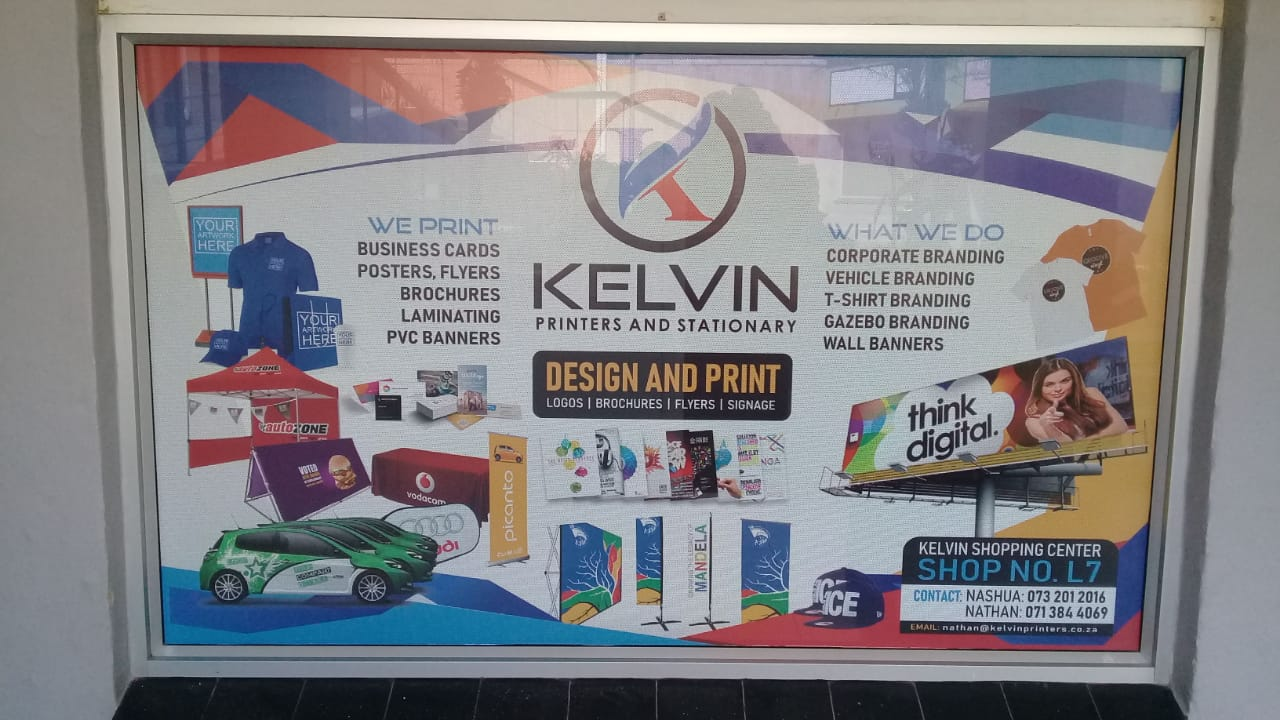 KELVIN PRINTERS AND STATIONARY