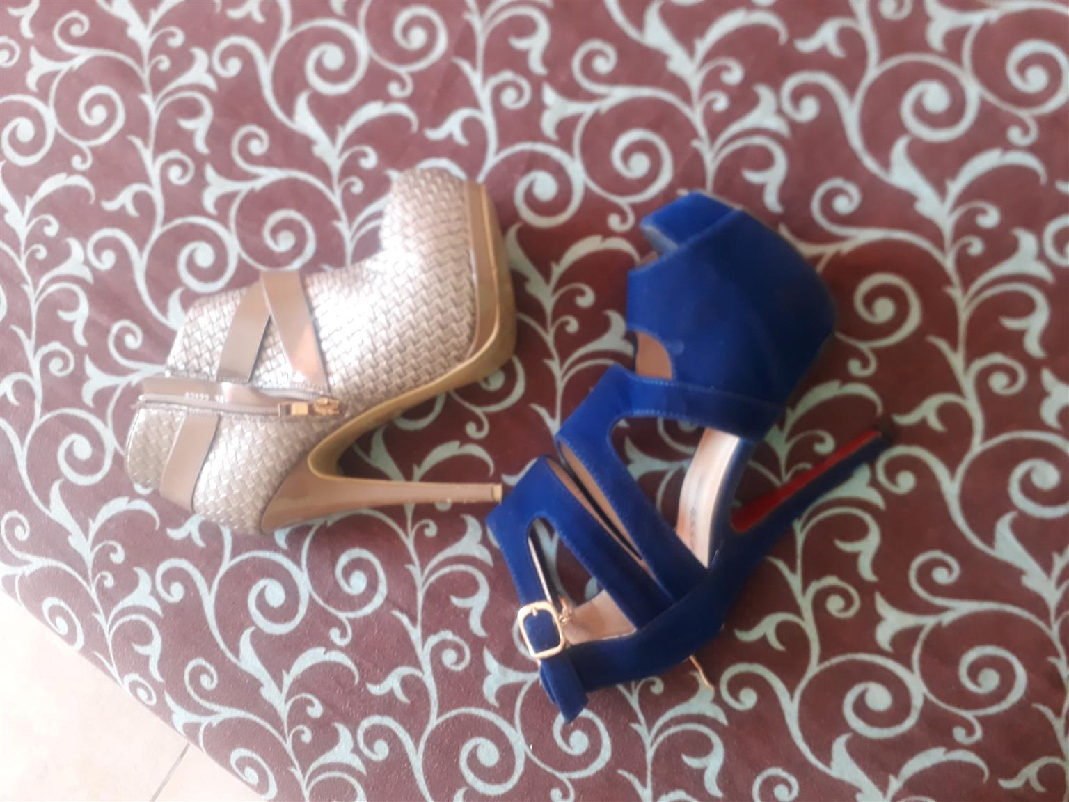 Platform heels size 5