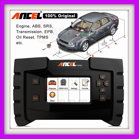 Ancel FX6000 OBD2 Diagnostic Tool All System ODB2 Scanner Automotive Code Reader