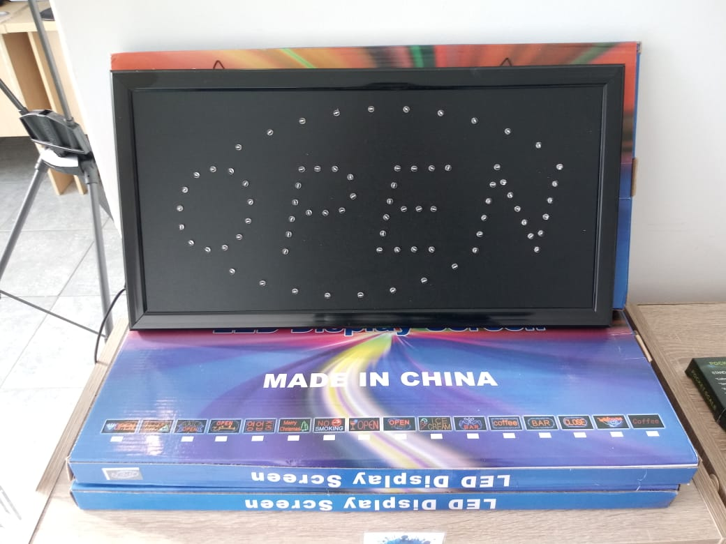 OPEN LED DISPLAY MONITOR