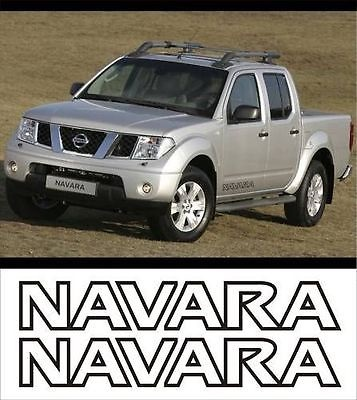 Nissan Navara decals stickers vinyl cut graphics