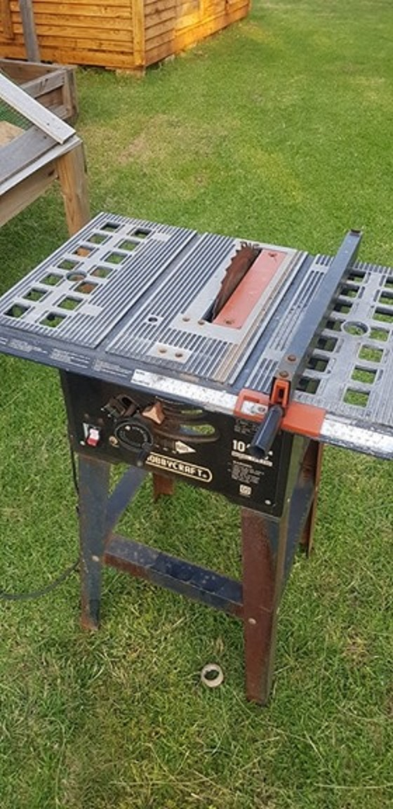 Hobbycraft 10 Table Saw Junk Mail