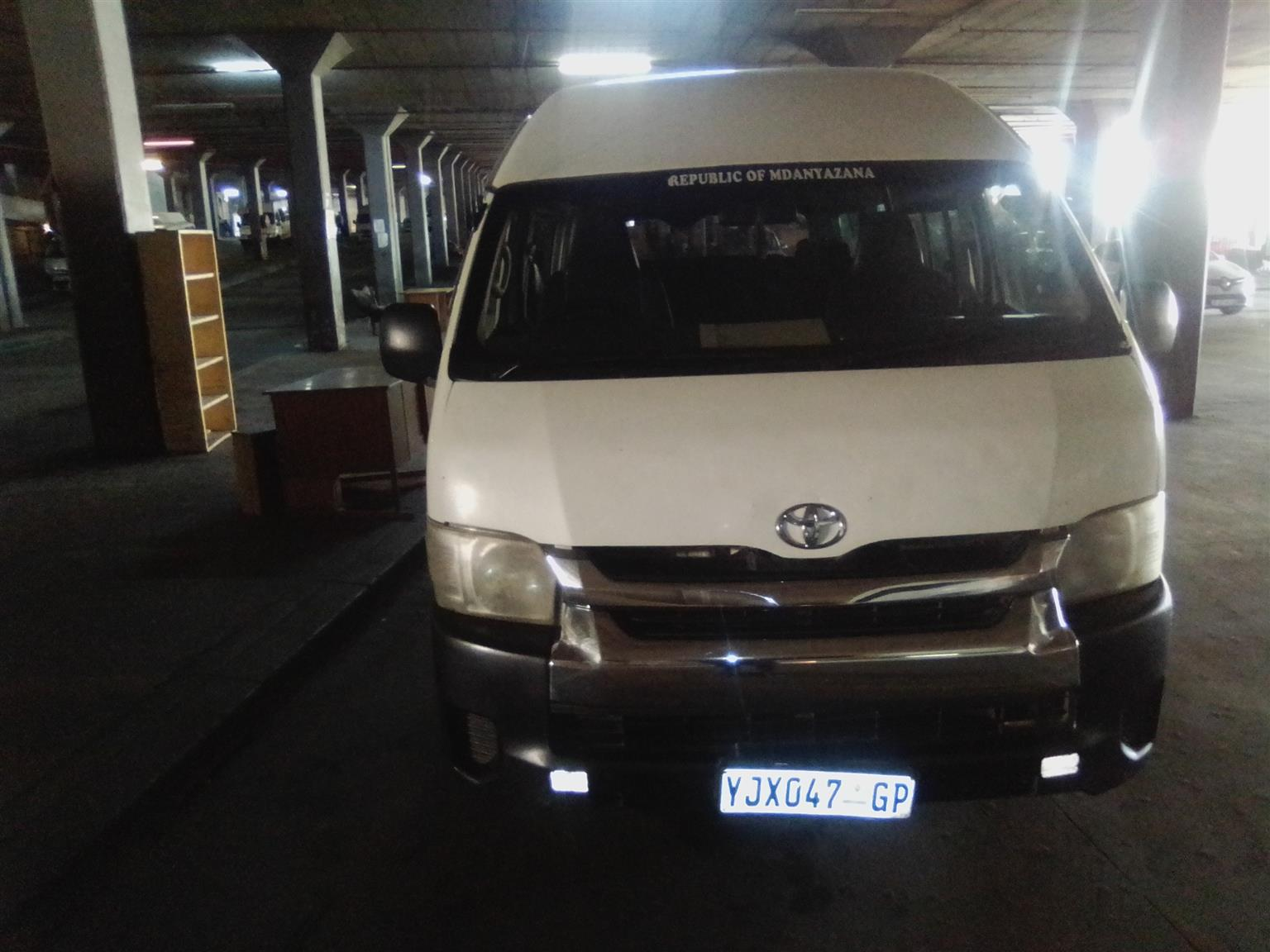 Toyota Quantum 16 Seater Petrol in best condition for best price R170k