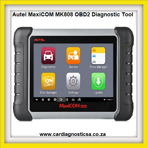 Car tool: Autel MaxiCOM MK808 OBD2 Diagnostic Tool 7-inch LCD Touch with All System &Service Functions of EPB/IMMO/DPF/SAS/TMPS Etc